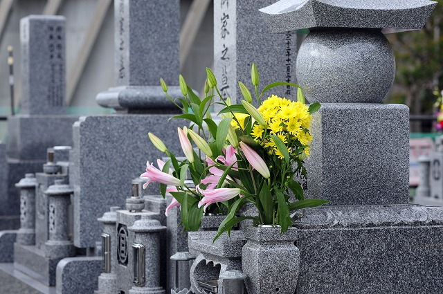 追加彫刻 北九州 月影霊園