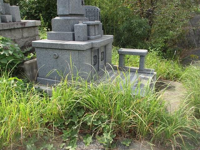 墓じまい例1 北九州 月影霊園